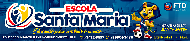 Escola Santa Maria - Banner